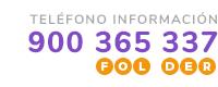 Teléfono de información 900 365 337